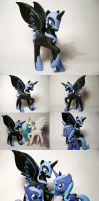 Nightmare Moon, Custom G4 Pony by Oak23