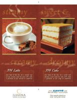 Table Card Xante Cafe by xloganx