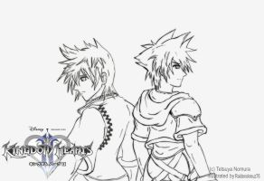 Kingdom Hearts 2 -promo linrtz by raidenokreuz76