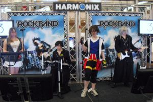 PAX east- KH Rock Band by w3dOtOhAv3h3aRtS