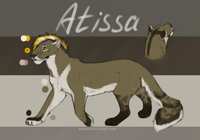 Atissa Reference Sheet by Kezzai