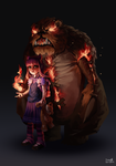 6-3 Annie the Dark Child by Skence