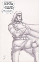 Dr Doom 10 17 09 by JamesLynch