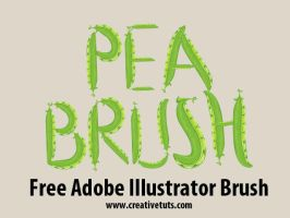 Green Peas Illustrator Brush by Grasycho