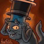 Commission - Happy Edits 'Happy Fancy Cat' by Nicolas-SW