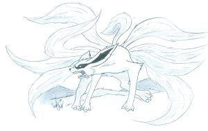 Ninetails Fox by Soul-Malfunction