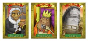 Roaches Comic Cards by Gargantuan-Media