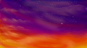 Sunset by AriTheWeasel