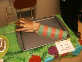 Freddy Krueger Cake by SSXprincess