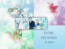 Psd Header-Texture Pack by rexbee