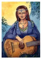 Lady Bard by Katerinich