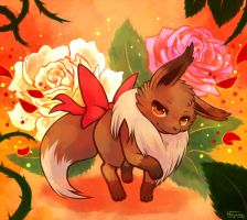 Eevee used Attract by Haychel