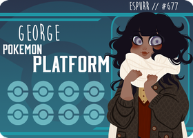 pokeplatform / george by owl-bones