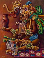 MAYAN LORD by Gallery-of-Art