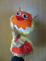 Mischief Monster Hand Puppet by CreativeSoup