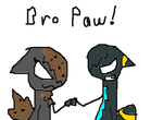 .:AT:. Bro Paw by ValentinePegasus