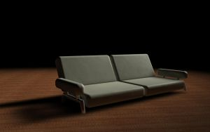 Couch 3D by DaBanch