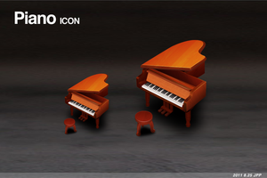 piano icon by sd0606204