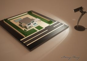 House Model by meling-3d