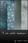 ice cold textures by rainbows-stock