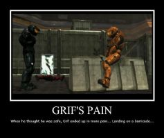 Grif's Pain by Aznkid671