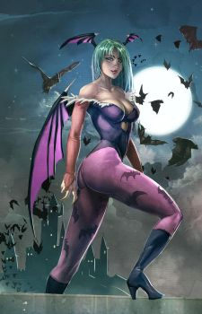 Morrigan Aensland by xavor85
