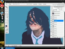 Gerard WIP by cybertrash4point0