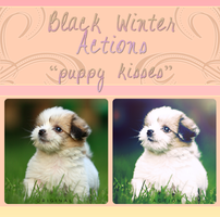 Black Winter Actions - Puppy Kisses by blackxwinter