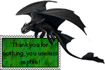 Toothless Stamp by dragongirl508