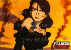 AUTHENTIC Laura Bailey Autograph by Grey-Knight