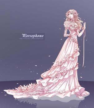 Commission: Persephone by ZenithOmocha