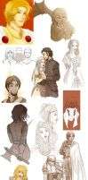 ASOIAF Sketchdump by Rakiah