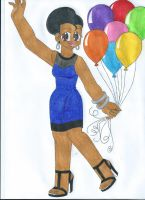 Birthday Party Girl by animequeen20012003