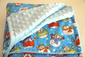 Baby Fleece Blanket by brendasnursery