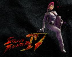 Street Fighter IV C. Viper by ManeFunction