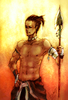 South tribe Head ATLA by 0KiWi0