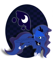 8 - Princess Luna by BatLover800