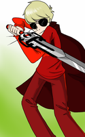 Dave Strider number i dunno by Grey-win