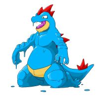 Feraligatr Latex tf p4 by nesise