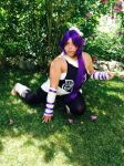 My Yoruichi cosplay by neon-talon-claw