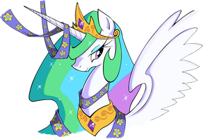 Graceful Queen - Vectored by fanart-is-magic