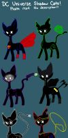 DC Universe Shadow Cat Adopts :CLOSED: by EnigmaApocalypse