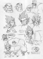 These are Saiyans by EnterPraiz