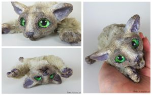 Bachsa the OOAK Ocofox Art Doll SOLD by Sovriin