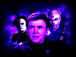 Bester/Babylon 5 by scifiman