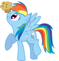 Dash and a Muffin by kittyhawk-contrail