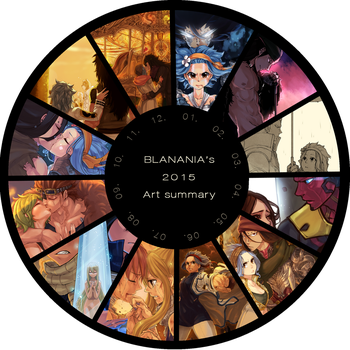 2015 Art Summary by blanania