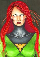 Phoenix: Jean Grey by Ginger-LING