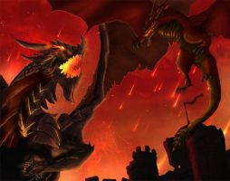 Against Deathwing by Netarliargus
