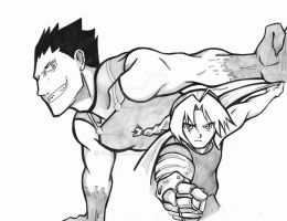 greed and  ed of FMA by CAVAFERDI